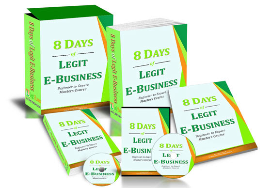 8 Days of Legit eBusiness e-Course
