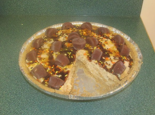Dan's Favorite Peanut Butter Pie, it was on our July 04th menu this year 2013, and awesome in flavor as always.