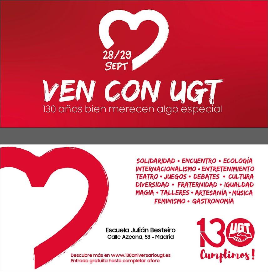 Cartel UGT 2019