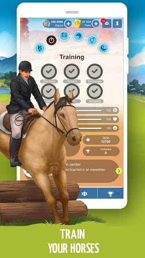 Howrse - free horse breeding farm game 4.0.5 screenshots 4