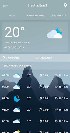 Previsão do tempo screenshot 7