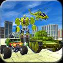 Robot Transform Army Tank War icon