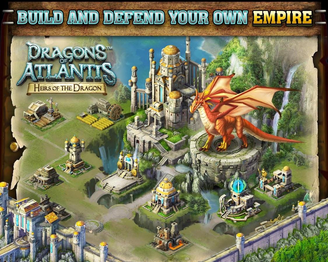 Dragons Of Atlantis Homes