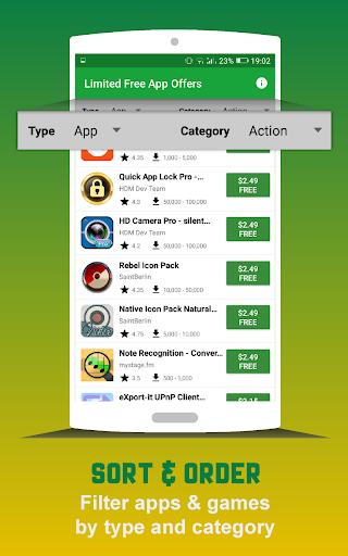 Limited free app offers  screenshots 3