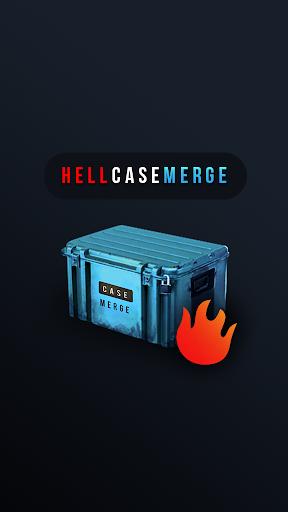 ?Hell Case Merge. Ultimate Skins Simulator Opener 1.11 screenshots 1