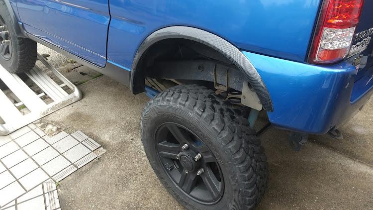 ジムニー JB23Wのキャンプ行きたい,タイヤ物色中,225/75-16に関するカスタム&メンテナンスの投稿画像1枚目