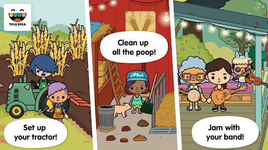 Toca Life: Farm- screenshot thumbnail