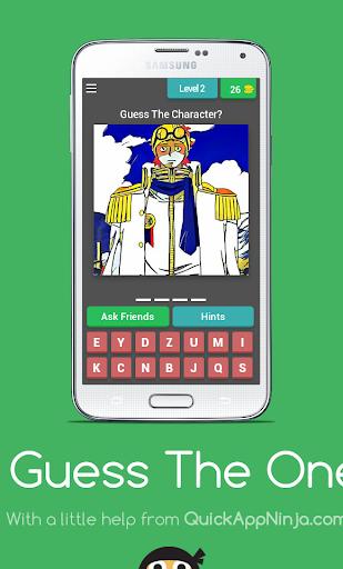 玩免費益智APP 下載Guess The One Piece Character app不用錢 硬是要APP
