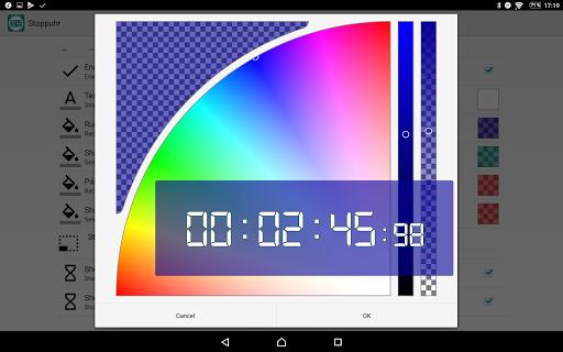 Floating Stopwatch, free multitasking timer 3.2.7 screenshots 3