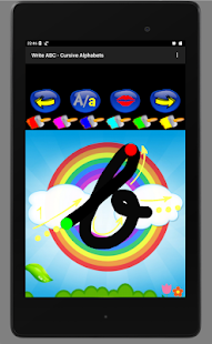 Write ABC - Cursive Alphabets- screenshot thumbnail