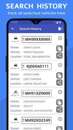 Vehicle Owner Details India 2.1.0 screenshots 3