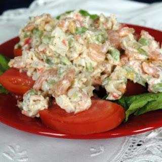 Savory Summer Seafood Salad.