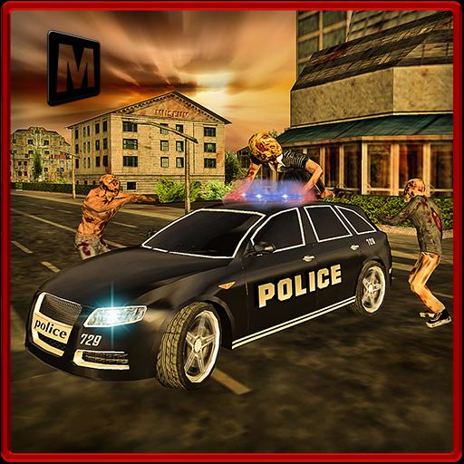 警察のドライバハロウィーンゾンビ 冒險 App LOGO-硬是要APP