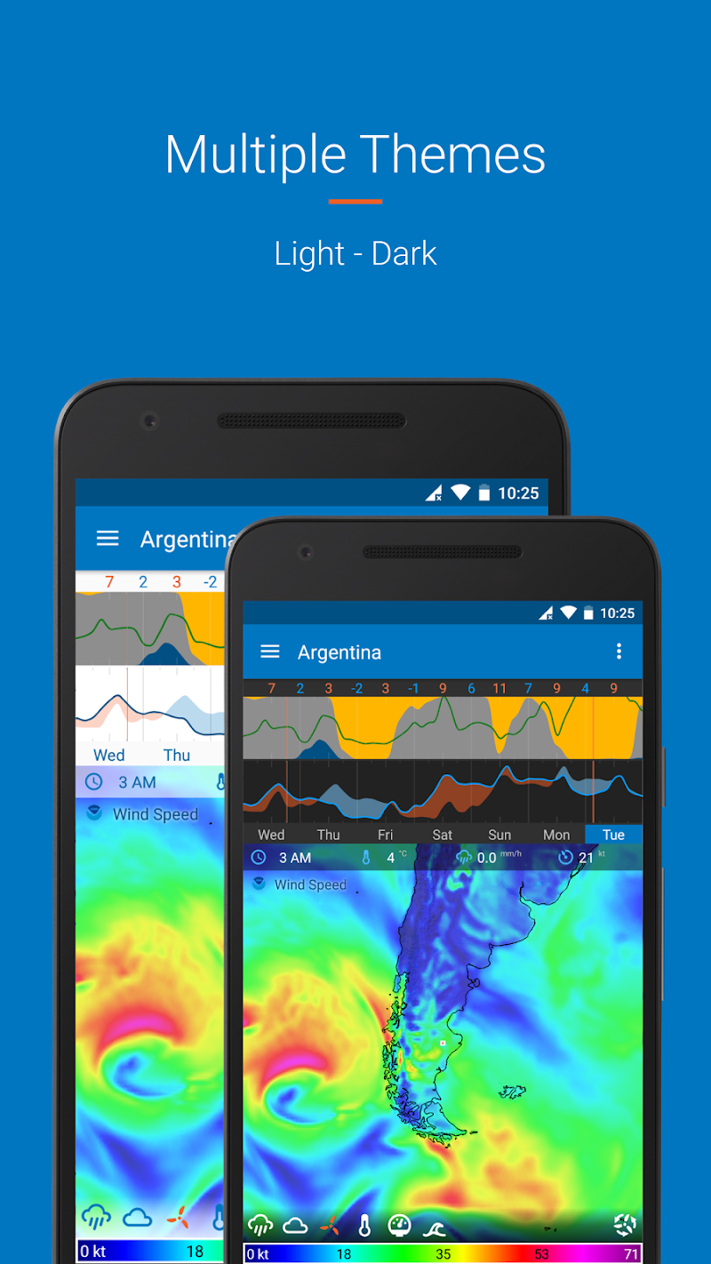 Flowx: Weather Map Forecast Screenshot 4