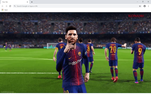 PES 2019 Wallpapers and New Tab
