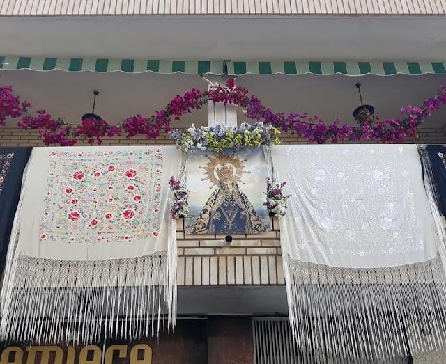 El balcón ganador.