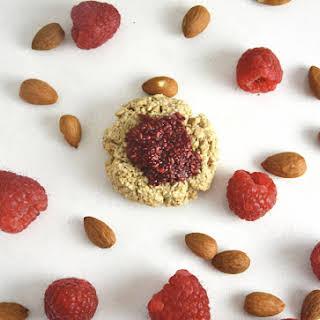 Lemon Thumbprint Cookies with Chia Raspberry Jam.
