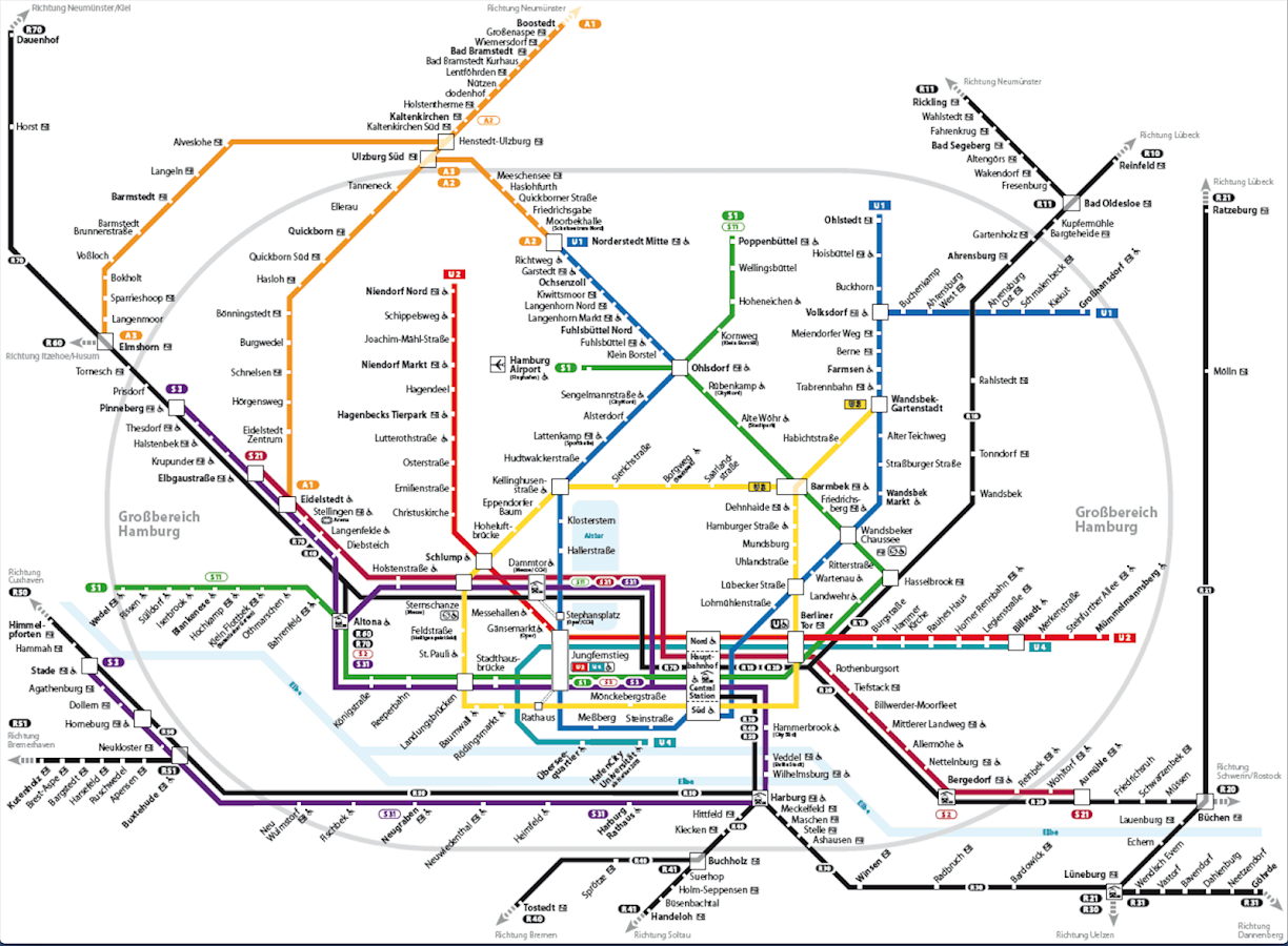 Hamburg S Bahn Map Android Apps on Google Play