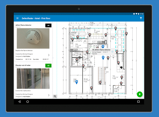 PlanRadar construction app screenshot 10