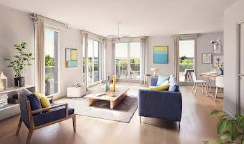 Appartement 4 pièces 90,22 m2