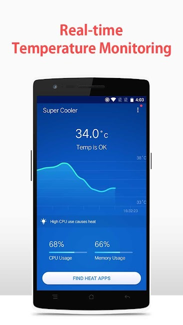 #1. Super Cooler-CPU Cooler-Cool (Android)