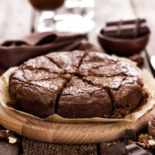 Chocolate Wasted Brownie Dump Cake.