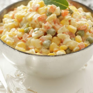 Creamy Vegetable Salad