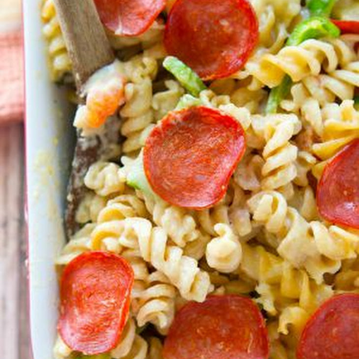 Pepperoni Pizza Mac 'n' Cheese Recipe | Yummly