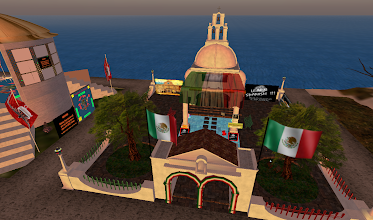 Photo: Learn Spanish, = http://maps.secondlife.com/secondlife/Hoedown/228/24/22