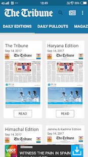 The Tribune, Chandigarh, India - náhled