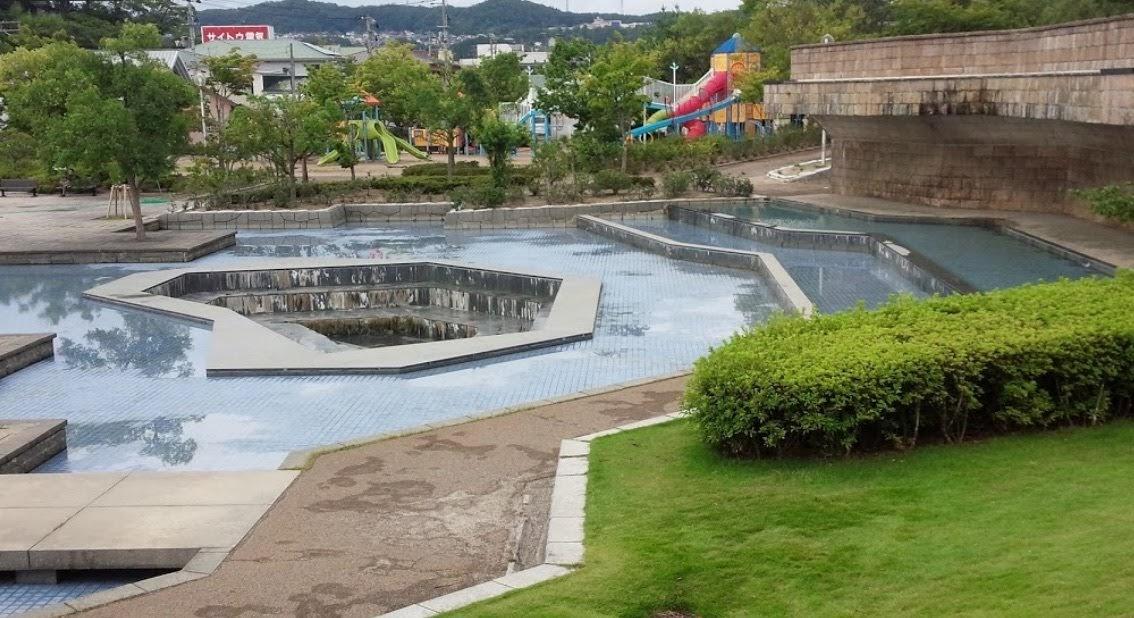 みずいろ公園 _ 本宮市 | 水遊び ができる場所