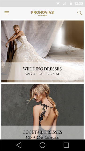PRONOVIAS- screenshot