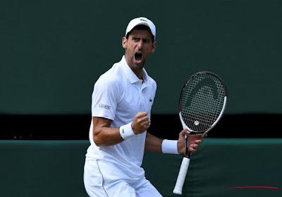 Novak Djokovic laat zich niet verrassen door 24e reekshoofd en is de eerste halvefinalist op Wimbledon