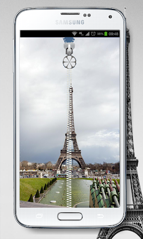 android NEW PRAY PARIS SCREEN LOCK Screenshot 2
