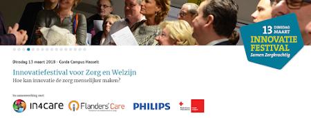 In4care en Dag van de Zorg organiseren Innovatiefestival: VERSLAG