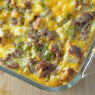 Crazy Easy Gluten Free Breakfast Casserole.