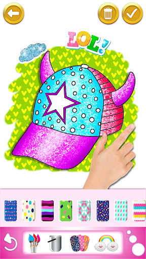 Glitter dress coloring and drawing book for Kids screenshot 6