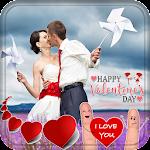 Valentine Day Dp Maker icon