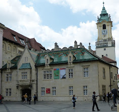 Photo: Old Town Hall (Stará radnica) (Back)