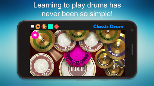 Classic Drum - The best way to play drums! 6.7 screenshots 2