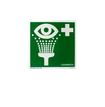 Första Hjälpen-skylt - Ögondusch