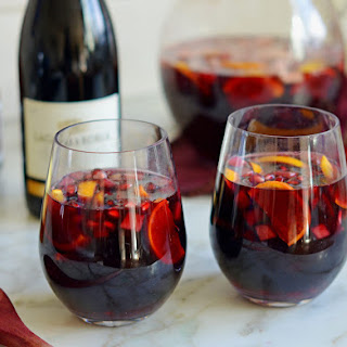 Red Wine Sangria Pomegranate Recipes