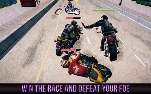 モトバイクファイター:ライバル人種