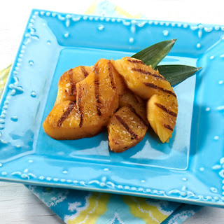 Grilled Fresh Pineapple.