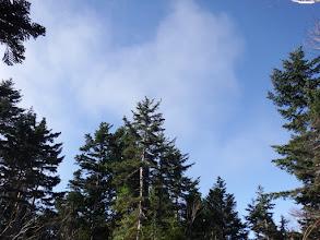 雲が湧いてきた