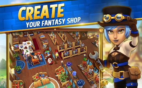 Game Shop Titans: Design & Trade APK for Windows Phone