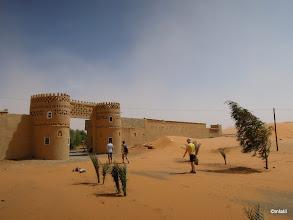 Photo: naše ubikace, ksar Lac du Sahara