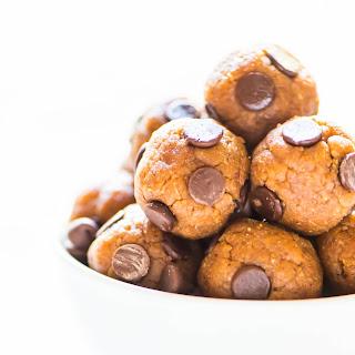 No Bake Cookie Dough Protein Balls
