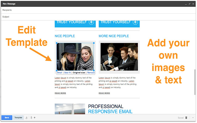 Email Templates For Gmail Chrome Web Store - Free email templates for gmail