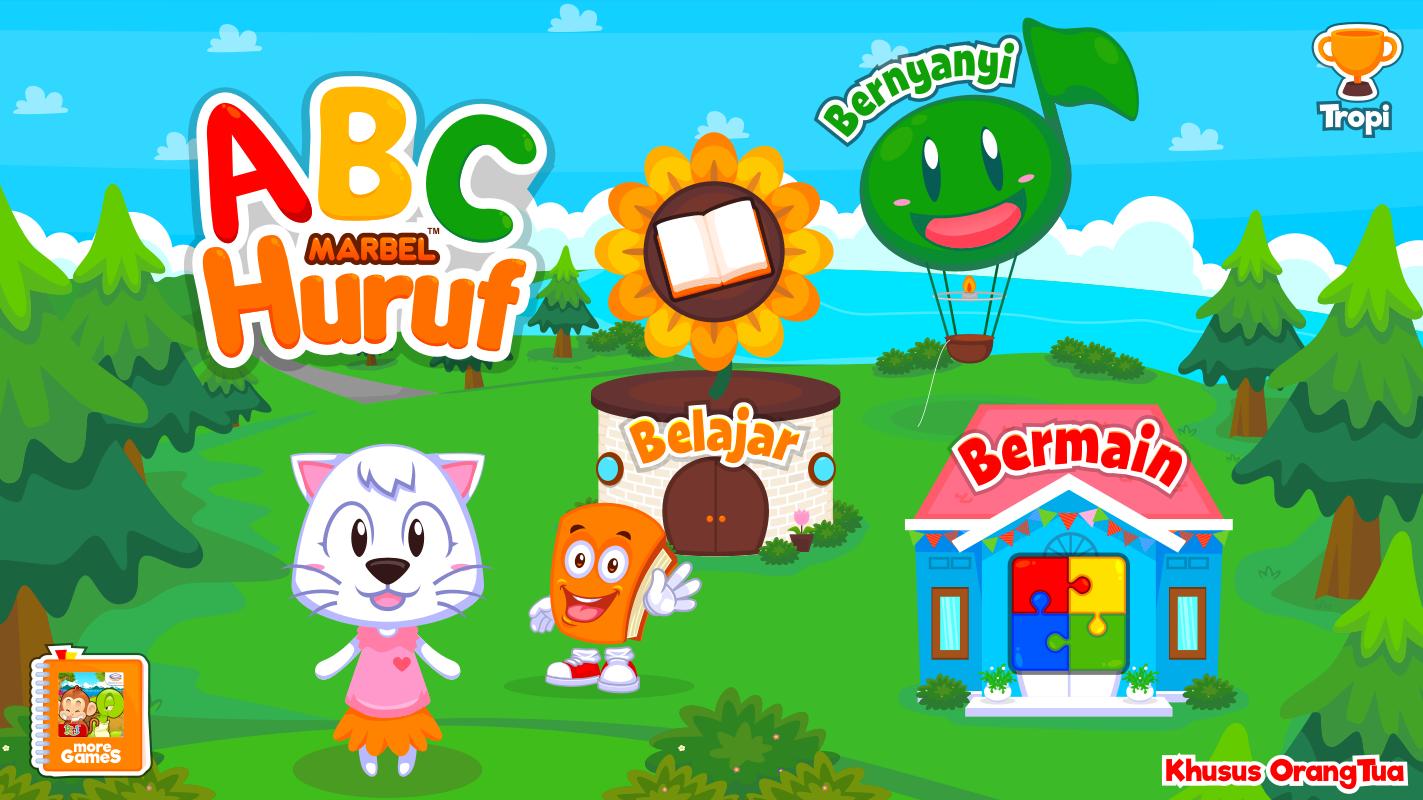 Marbel Belajar Huruf Alfabet Apl Android Di Google Play